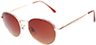 HAPPY HOUR HOLIDAZE GOLD & AMBER SHADES SUNGLASSES
