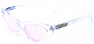 HAPPY HOUR SPACE NEEDLE CLEAR PINK SHADES SUNGLASSES