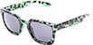 HAPPY HOUR WOLF PUP FROST GREEN TORTOISE SUNGLASSES