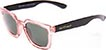 HAPPY HOUR WOLF PUP ROSE/BLACK SUNGLASSES