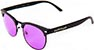 HAPPY HOUR G2 MATTE BLACK/PURPLE LENS SUNGLASSES