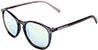 HAPPY HOUR FLAP JACK FROST BLACK/MIRROR SUNGLASSES