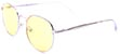 HAPPY HOUR HOLIDAZE GOLD/YELLOW LENS SUNGLASSES