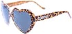 HAPPY HOUR TEAM HEART ONS LEOPARD SUNGLASSES