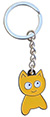 MEOW CAT KEYCHAIN