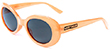 HAPPY HOUR TEAM BEACH PARTY ORANGE SHADES SUNGLASSES
