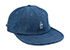 GOOD WORTH & CO BEST WISHES STRAPBACK HAT DENIM
