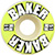 BAKER BRAND LOGO LIME 51MM (Set of 4)