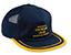 GOOD WORTH & CO UNDERPAID SNAPBACK HAT NAVY/GOLD