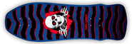POWELL RIPPER GEE GAH NAVY DECK 9.75