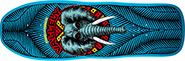 POWELL VALLELY ELEPHANT BLUE RE-ISSUE DECK 10.00
