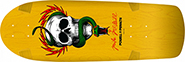 POWELL MCGILL SKULL AND SNAKE YELLOW RE-ISSUE DECK 10.00