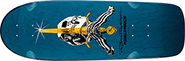 POWELL RAY RODRIGUEZ OG  SKULL & SWORD ORANGE RE-ISSUE DECK 10.00
