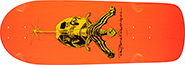 POWELL RAY RODRIGUEZ SKULL & SWORD OG SNUB ORANGE RE-ISSUE DECK 10.00