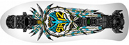 POWELL STEVE SIAZ TOTEM WHITE RE-ISSUE DECK 10.00