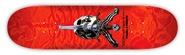 POWELL SKULL & SWORD RED PP DECK 8.25