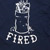 OUR LIFE FIRED NAVY LS M