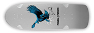 POWELL PERALTA BONES BRIGADE TONY HAWK OG HAWK SILVER RE-ISSUE DECK 9.56