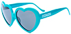 HAPPY HOUR HEART-ONS FTURQUOISE SHADES SUNGLASSES