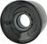 BLANK CRUISER CLEAR BLACK 60MM 83A (Set of 4)