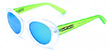 HAPPY HOUR BEACH PARTY SHOCKING GREEN SHADES SUNGLASSES