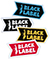 BLACK LABEL ANT LOGO STICKER