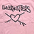 GNARHUNTERS BOARDWORDS PINK SS XL