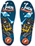 FOOTPRINT KINGFOAM ELITE JAWS ROBOT INSOLE LARGE (8-14)