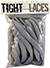 TIGHT LACES OVAL LIGHT GREY