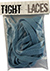 TIGHT LACES FLAT LIGHT BLUE