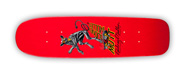 POWELL PERALTA BONES BRIGADE RODNEY MULLEN MUTT RED RE-ISSUE DECK 7.13 X 26.13