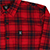 HARD LUCK MALIBU RED FLANNEL L/S M