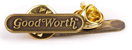 GOOD WORTH & CO OG LOGO LAPEL PIN