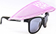 HAPPY HOUR SUNGLASS HAT PINK (SUNGLASSES NOT INCLUDED)