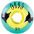 ORBS POLTERGEISTS TEAL/YELLOW 54MM 102A (Set of 4)