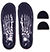 FOOTPRINT GAMECHANGERS SKELETON BLACK INSOLE 10/10.5