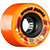 BONES ATF ROUGH RIDERS SHOTGUN ORANGE WHEELS 56MM 80A (Set of 4)