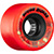 BONES ATF ROUGH RIDERS SHOTGUN RED WHEELS 56MM 80A (Set of 4)