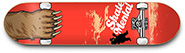 GRIZZLY X SKATE MENTAL MAUL GRAB DECK 8.25