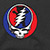 GRIZZLY X GRATEFUL DEAD GRIZZLY DEAD BLACK SS L