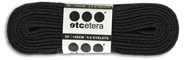 ETCETERA SHOE LACES BLACK