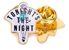 GOOD WORTH & CO TONIGHTS THE NIGHT LAPEL PIN
