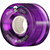 POWELL CLEAR PURPLE CRUISER WHEEL 55MM 80A (Set of 4)