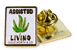 GOOD WORTH & CO ASSISTED LIVING WEED  LAPEL PIN