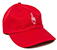 GOOD WORTH & CO BEST WISHES KEY STRAPBACK HAT RED
