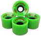 DOGTOWN MINI CRUISER GREEN WHEELS 59MM 84A (Set of 4)