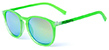 HAPPY HOUR PROVOST FLAP JACKS FLUORESCENT FROSTED GREEN SHADES SUNGLASSES
