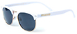 HAPPY HOUR TANCOWNY G2 WHITE/GOLD SHADES SUNGLASSES