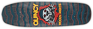 QUINCY WOODWRIGHTS RIPPER SHAPED PP DECK 8.75