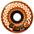 KROOKED ZIP ZINGERS ORANGE WHEELS 58MM 80D (Set of 4)